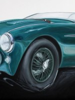 Austin Healey 100M - 2014 - cm.120x60 - Acrilico su tela / Acrylic on canvas
